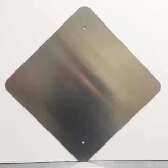 18 x 18 Diamond Aluminum Blanks