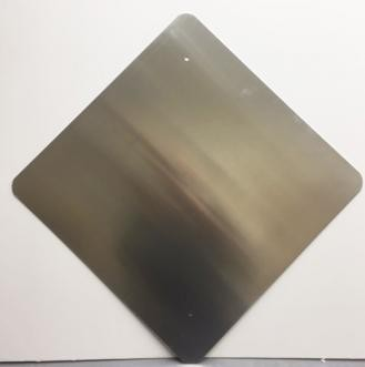 24 x 24 Diamond Aluminum Blanks
