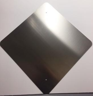 36 x 36 Diamond Aluminum Blanks