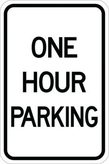 One Hour Parking