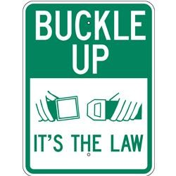 AR-239 Buckle Up Sign