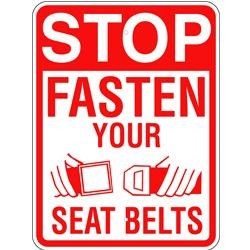 AR-240 Fasten Your Seat Belt Sign