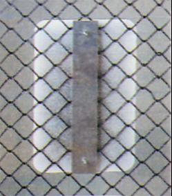 Chain Link Fence Bracket ISCFMB-12AL