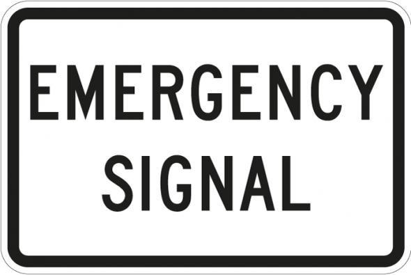 Emergency Signal R10-13
