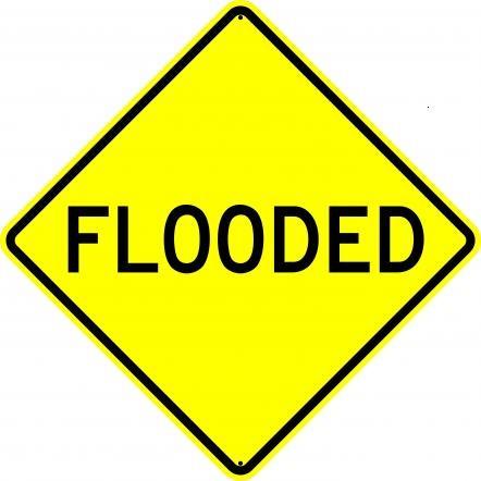 Flooded W55