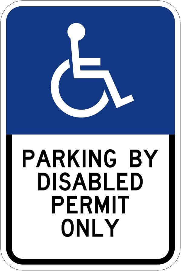 Florida Handicap Parking Signs FTP-20-06