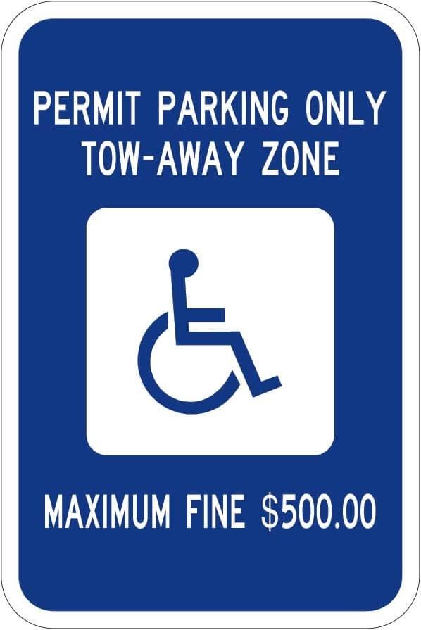 Georgia Handicap Sign R7-8 ga