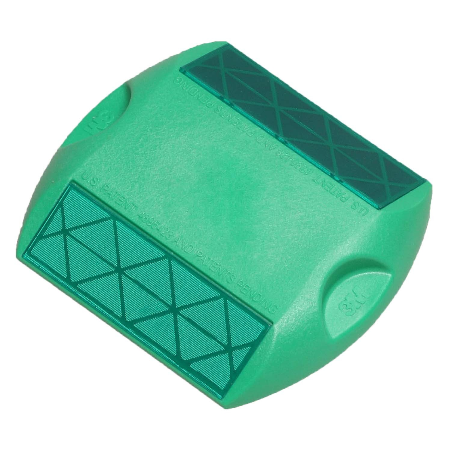 Two-Way Green 3M Raised Pavement Marker Series 290 RPM-290-2G