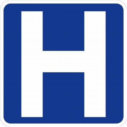 Hospital Symbol Sign D9-2