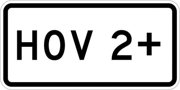 R3 2 Sign >> Traffic Signs Hov 2 Plaque Sign R3 5c Road Signs