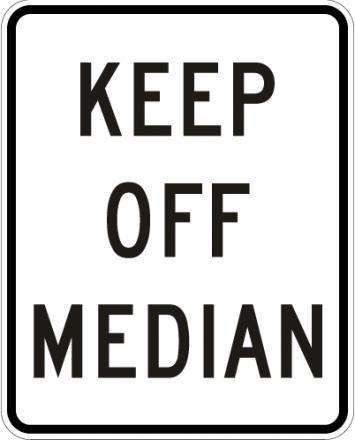 Keep Of Median R11-1