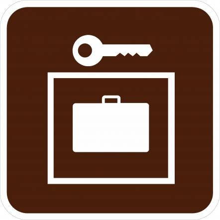 Locker Sign RA-070