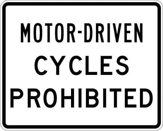 Motor Driven Cycles R5-8