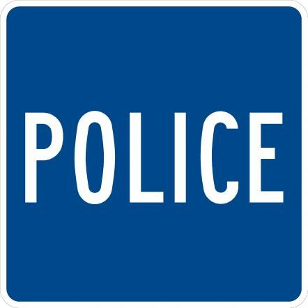 Police Sign D9-14