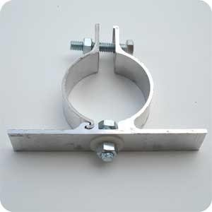 Post Clamps 2-3/8 inch for one sign PPB-12