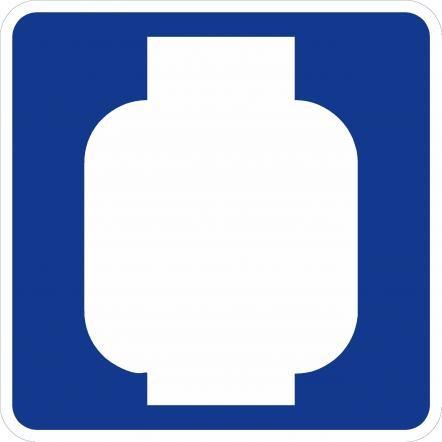 Propane Symbol Sign D9-15