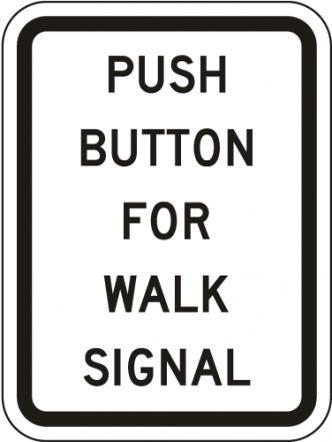 Push Button For Walk Signal R10-4