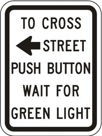 Push Button To Cross R10-3a