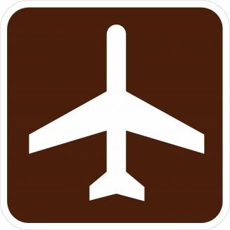 Traffic Signs | RA-010 Airport Symbol Sign | Road Signs
