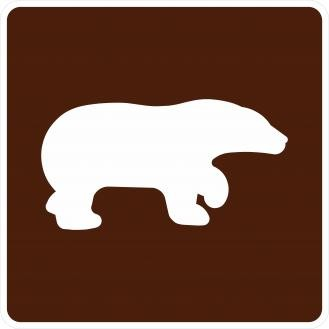 RG-020 Bear Viewing Area Signs