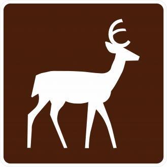 RG-040 Deer Viewing Area Signs