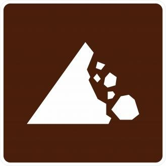 RG-070 Falling Rocks Signs