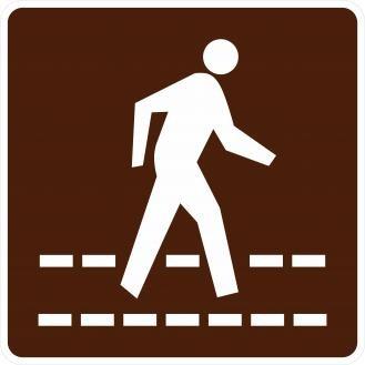 RG-150 Pedestrian Crossing Signs