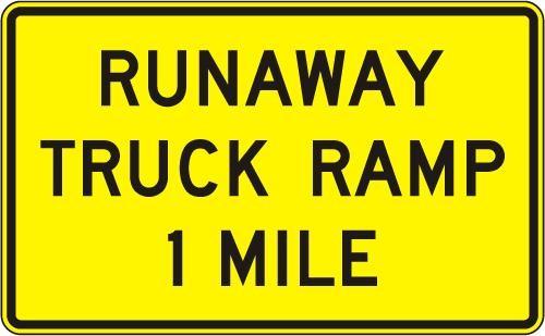 Runaway Truck Ramp W7-4