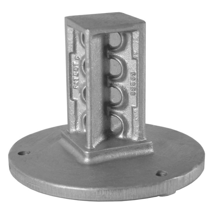 SNAP'n SAFE Square Post Surface Mount Coupler S175S