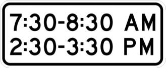 Time Of Day Signs S4-1