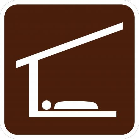 Sleeping Shelter Signs RA-110