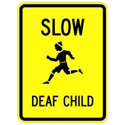 Slow Deaf Child W9-13