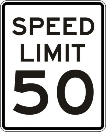 Speed Limit Signs R2-1
