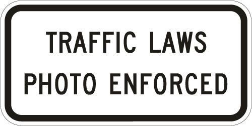 Traffic Laws Photo Enforced R10-18