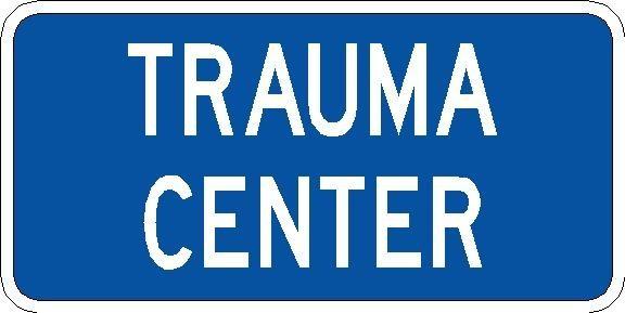 Trauma Center Plaque D9-13DP