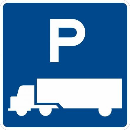 Truck Parking Sign D9-16
