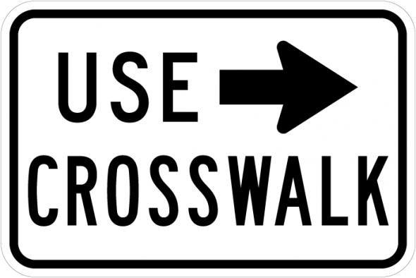 Use Crosswalk R9-3b