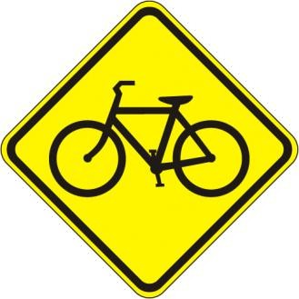 W11-1 Bicycle Crossing Signs