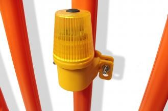 WHI Safeguard Amber Side Mount Safety Lights BHYR-1405a