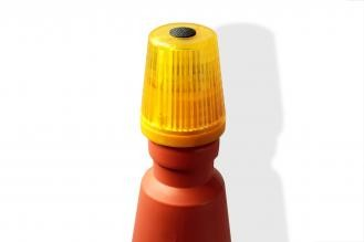 WHI Safeguard Narrow Amber Cone Safety Lights CSL-1401