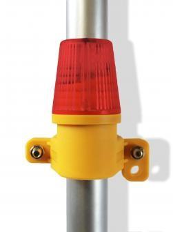 WHI Safeguard Red Side Mount Safety Lights