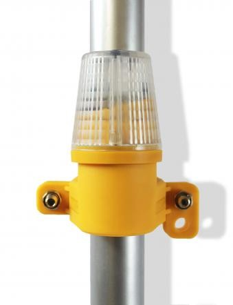 WHI Safeguard White Side Mount Safety Lights BHYR-1405w
