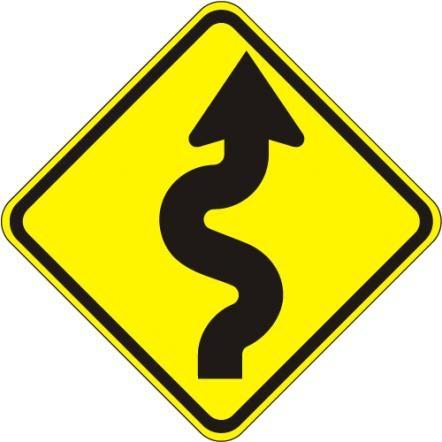Winding road W1-5R
