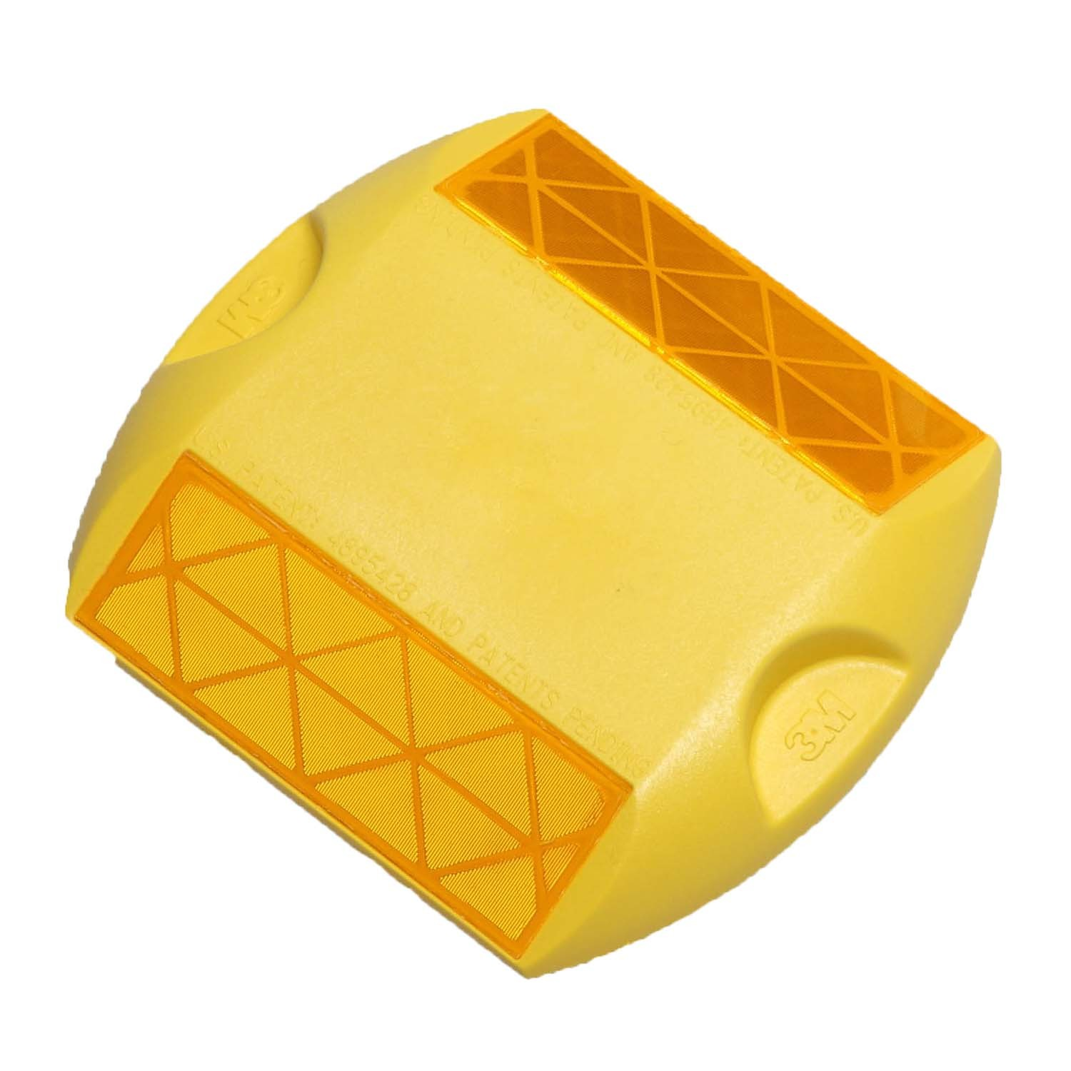 Two-Way Yellow 3M Raised Pavement Marker Series 290 RPM-290-2Y
