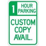 1 Hour Parking (Custom Copy) AR-160