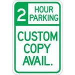 2 Hour Parking (Custom Copy) AR-161
