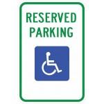 Mississippi Handicap Parking Sign R7-8 ms