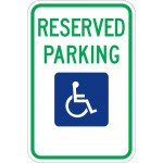 Reserved Handicap Parking R7-8 (Various States)