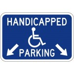 Handicapped Parking Sign AR-307