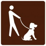 RG-110 Leashed Pets Signs